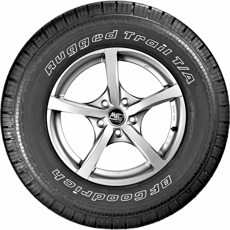 BF GOODRICH LT245/75R17 121R RUGGED TRAIL T/A GRNX-3