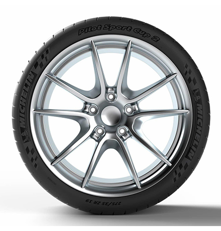 צמיגי מישלין  michelin 235/35zr19 91y xl pilot sport cup 2-3